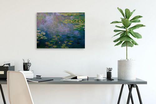 תמונה לפינת עבודה - קלוד מונה - חבצלות מים water lillies - מק''ט: 305969