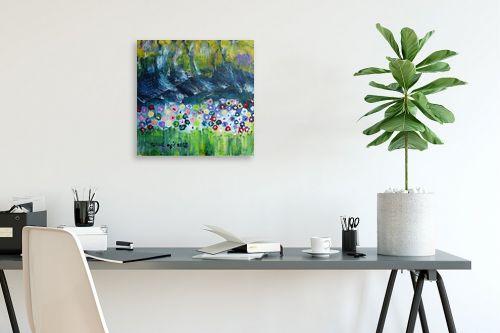 תמונה לפינת עבודה - ורד אופיר - פרחי שדה - מק''ט: 312368