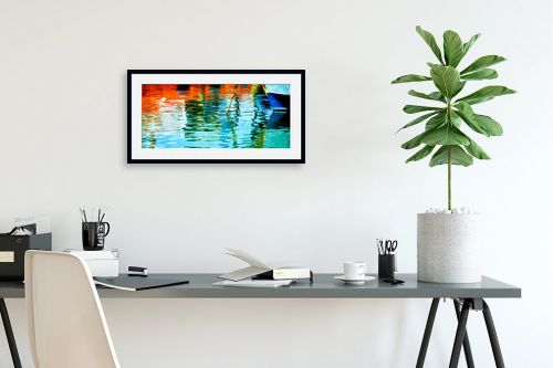 תמונה לפינת עבודה - אורית גפני - צבעים בנמל - מק''ט: 312882