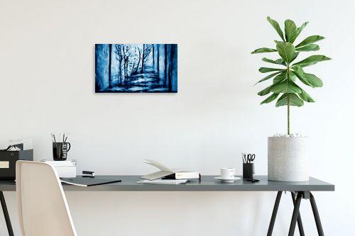 תמונה לפינת עבודה - אורית גפני - בלב היער - מק''ט: 320862