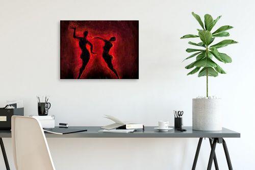 תמונה לפינת עבודה - גורדון - ריקוד האש - מק''ט: 327052