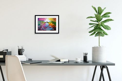 תמונה לפינת עבודה - MMB Art Studio - Reunion  - מק''ט: 328338