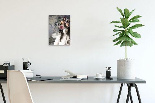 תמונה לפינת עבודה - בתיה שגיא - מלאכית הפרחים - מק''ט: 328882