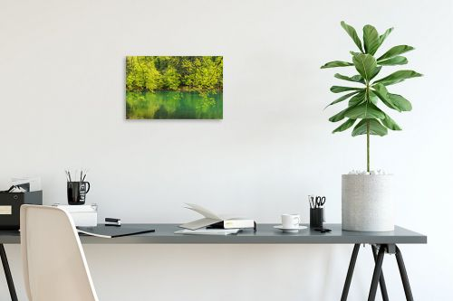 תמונה לפינת עבודה - דורית ברקוביץ - גוונים של ירוק - מק''ט: 333396