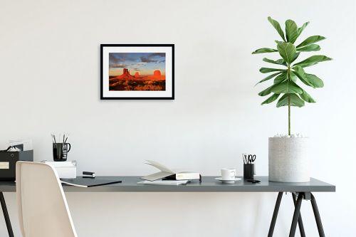 תמונה לפינת עבודה - אבנר ירון - Monument Valley 244 - מק''ט: 335365