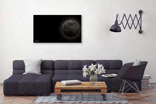 תמונה לסלון - אוהד דאיה - Full Moon - מק''ט: 245950