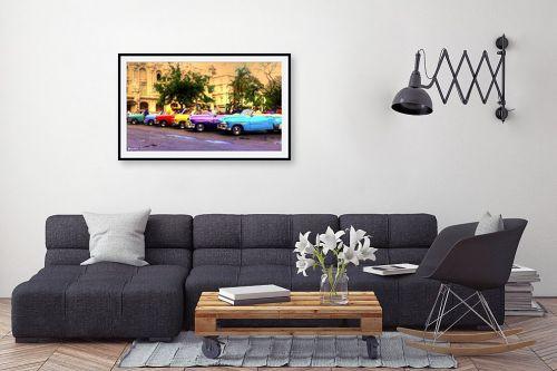 תמונה לסלון - מתן הירש - מכוניות קובניות - מק''ט: 282493