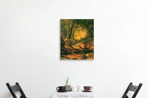 תמונה לפינת אוכל - אלברט בירשטאדט - Albert Bierstadt 063 - מק''ט: 124670