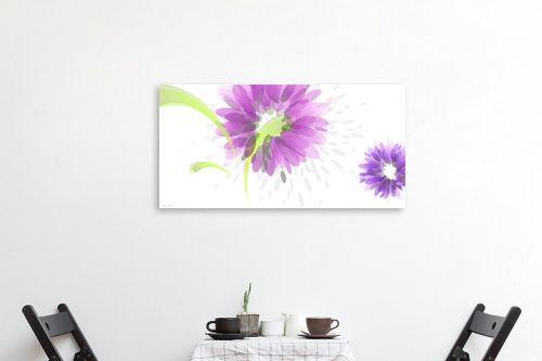 תמונה לפינת אוכל - נעמי עיצובים - פרחי טיפות - מק''ט: 161549