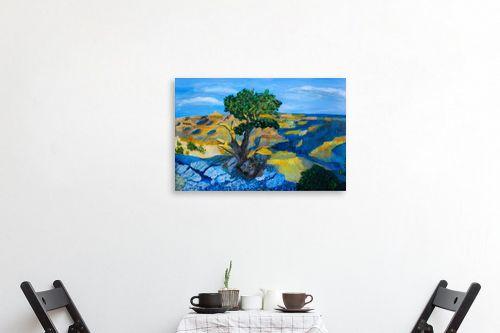תמונה לפינת אוכל - חנה כרמי - העץ הבודד - מק''ט: 194988