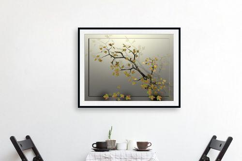 תמונה לפינת אוכל - רעיה גרינברג - ענף אגוז - מק''ט: 205853