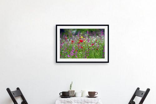 תמונה לפינת אוכל - אורית גפני - צבעי אביב - מק''ט: 300522