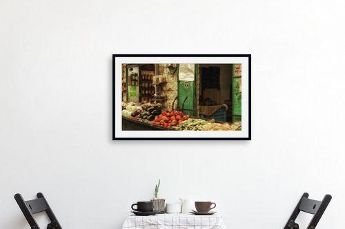 תמונה לפינת אוכל - אורי ברוך - צבעי השוק - מק''ט: 306041