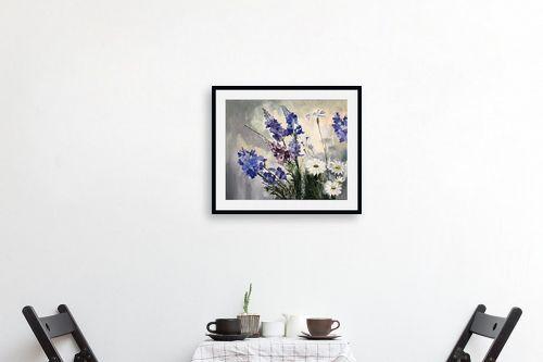 תמונה לפינת אוכל - אסתר טל - פרחים - מק''ט: 324126