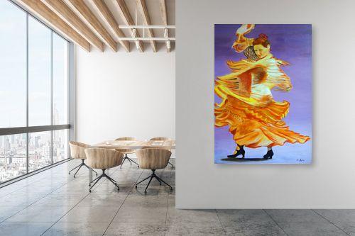תמונה למשרד - אסתר חן-ברזילי - רקדנית פלמנקו - מק''ט: 106969