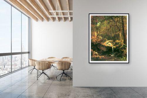 תמונה למשרד - אלברט בירשטאדט - Albert Bierstadt 052 - מק''ט: 124655