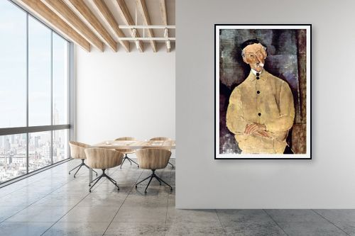 תמונה למשרד - אמדאו מודיליאני - Amedeo Modiglian 008 - מק''ט: 131717
