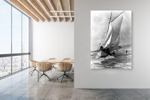 תמונה למשרד - דוד לסלו סקלי - תל אביב 1937 - זאב הים - מק''ט: 141841