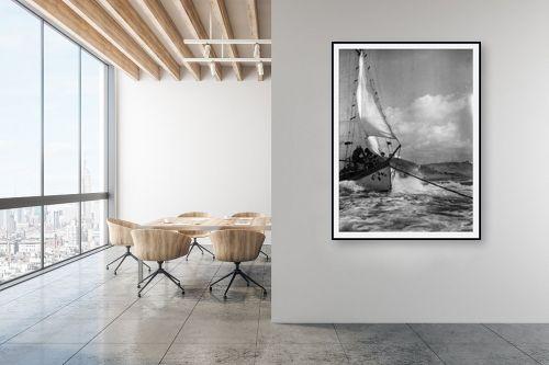 תמונה למשרד - דוד לסלו סקלי - תל אביב 1939 זאב הים - מק''ט: 143212