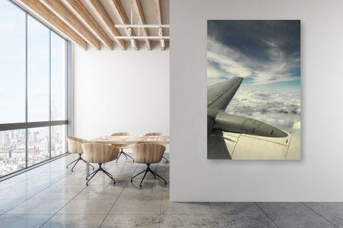תמונה למשרד - משה יפה - לחתוך את השמיים - מק''ט: 156968