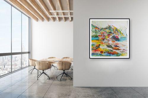 תמונה למשרד - רינה יניב - נוף צבעוני - מק''ט: 164125