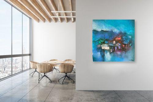 תמונה למשרד - בן רוטמן - לילה כחול על ההר - מק''ט: 201715
