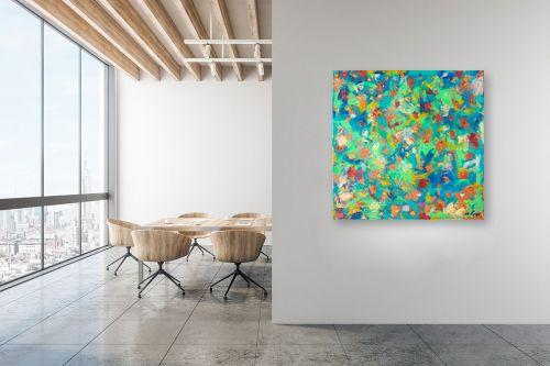 תמונה למשרד - MMB Art Studio - פרחים - מק''ט: 201967