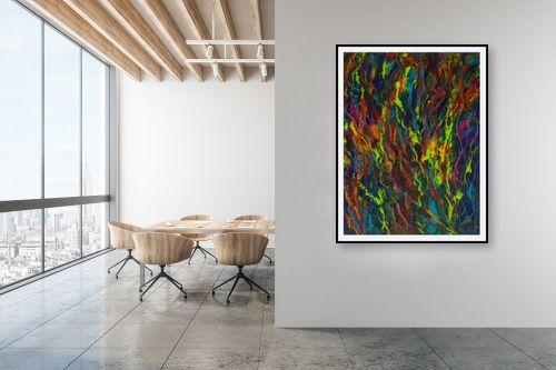 תמונה למשרד - אסתר חן-ברזילי - מחול הצבעים - מק''ט: 211804