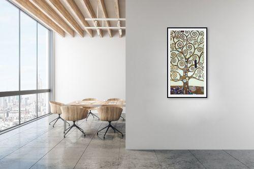 תמונה למשרד - גוסטב קלימט - עץ החיים Tree of life - מק''ט: 226229
