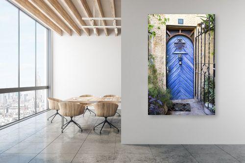 תמונה למשרד - ויויאן נתן - דלת כחולה בימין מושה - מק''ט: 226819