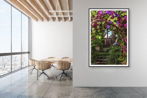תמונה למשרד - מיכאל שמידט - כניסה מצויירת - מק''ט: 231076