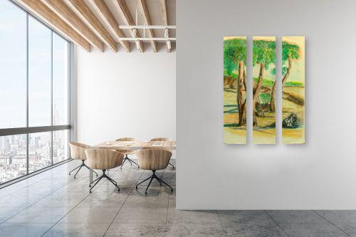תמונה למשרד - רינה יניב - עצי האקליפטוס - מק''ט: 255504