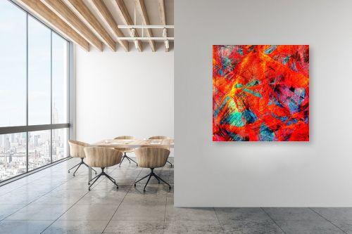תמונה למשרד - רוזה לשצ'ינסקי - נוף אדום 2 - מק''ט: 283008