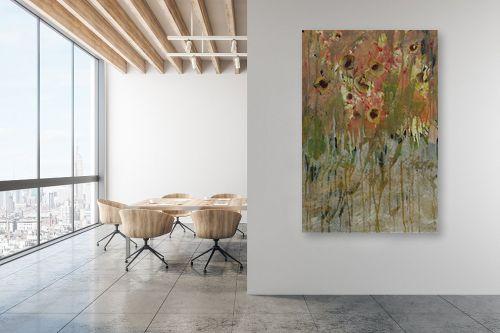 תמונה למשרד - ליה מלחי - שדה פרחים - מק''ט: 303167