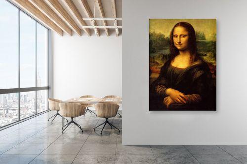 תמונה למשרד - לאונרדו דה וינצי - מונה ליזה - מק''ט: 303466