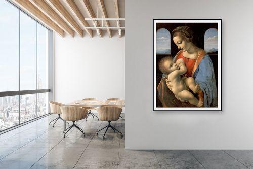 תמונה למשרד - לאונרדו דה וינצי - Madonna LItta - מק''ט: 303471