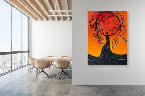 תמונה למשרד - אסתר חן-ברזילי - אלת עץ הריקוד - מק''ט: 306094