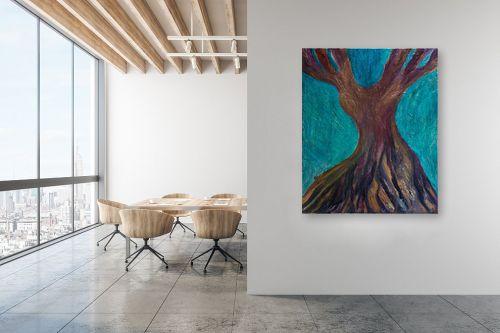 תמונה למשרד - אסתר חן-ברזילי - עץ מרקד - מק''ט: 306208