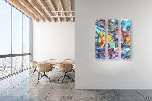 תמונה למשרד - בן רוטמן - רייחות וצבעים בסימטאות - מק''ט: 307082