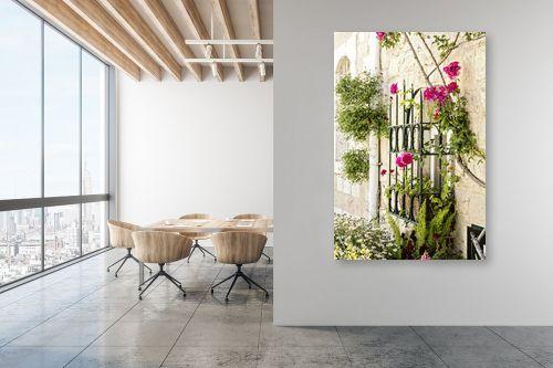 תמונה למשרד - ויויאן נתן - ורדים בחלון - מק''ט: 309893