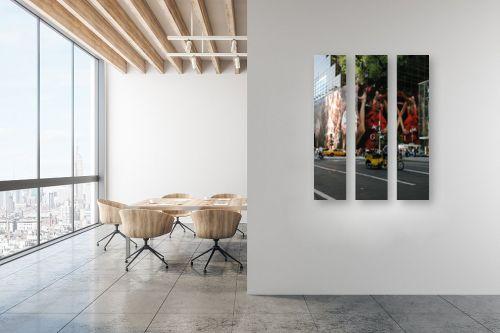תמונה למשרד - אלי נגר - אופניים במנהטן - מק''ט: 31056
