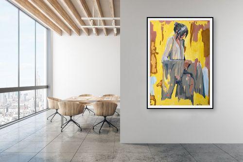 תמונה למשרד - MMB Art Studio - China Girl  - מק''ט: 315777