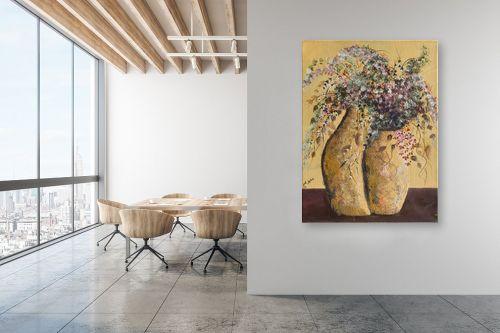 תמונה למשרד - דיאנה אורן - עציצים - מק''ט: 316193