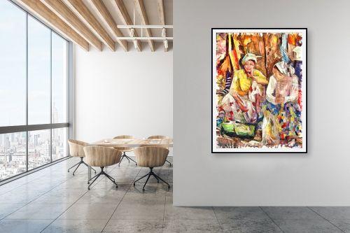 תמונה למשרד - בן רוטמן - מוכרות בשוק - מק''ט: 319525