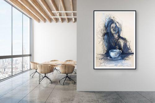 תמונה למשרד - חני שפר - זמן קפה - מק''ט: 325561