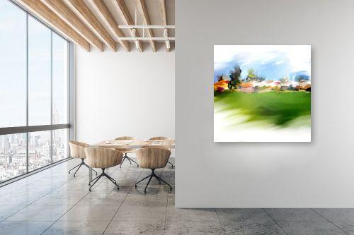 תמונה למשרד - גורדון - שדות ירוקים - מק''ט: 328294