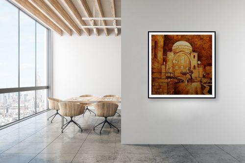 תמונה למשרד - שמואל מושניק - בית הכנסת החורבה - מק''ט: 330978