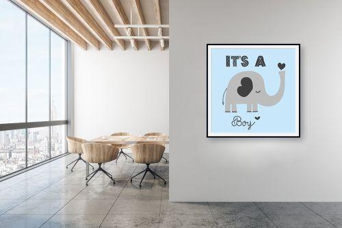 תמונה למשרד - Artpicked - Its a boy - מק''ט: 331739