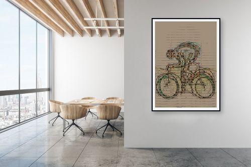 תמונה למשרד - גורדון - גלגלים - מק''ט: 332338