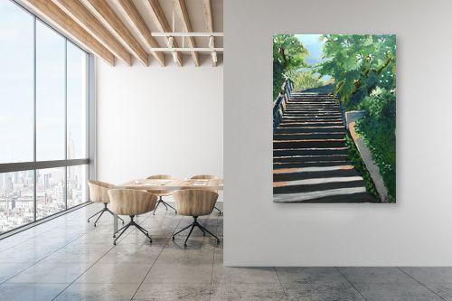 תמונה למשרד - MMB Art Studio - Staircase to heaven  - מק''ט: 333182